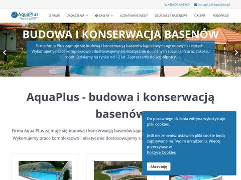 AquaPlus – renowacja i montaż basenów
