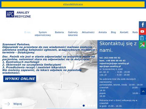 APC Analizy Medyczne Małgorzata Banasik