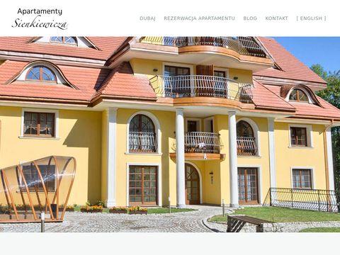 Apartamentysienkiewicza.com wakacje w Zakopanem