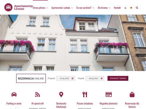 Apartamentyleszno.com