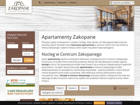 Apartamentyluxzakopane.pl