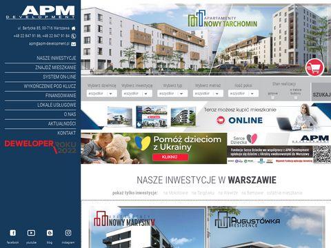 APM Development mieszkanie od dewelopera