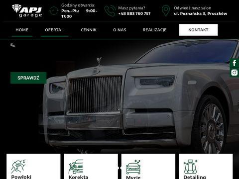 Apjgarage.pl detailing Warszawa
