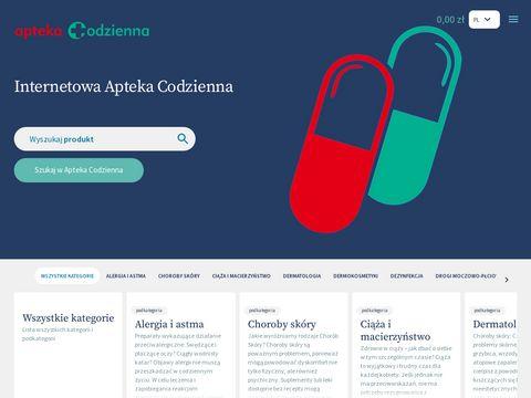 Aptekacodzienna.pl suplementy diety Starachowice