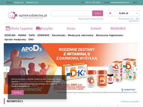 AptekaDziecka.pl kosmetyki dla dzieci