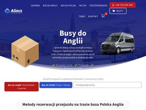 Asbus-transport.pl z Anglii do Polski