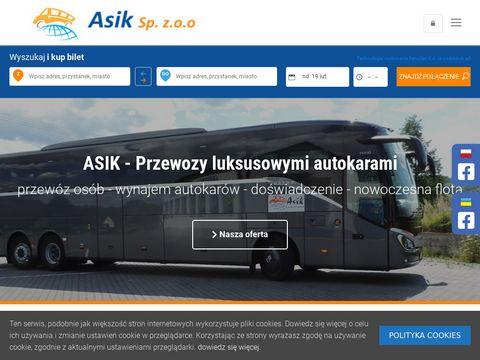Asik - busy do Niemiec
