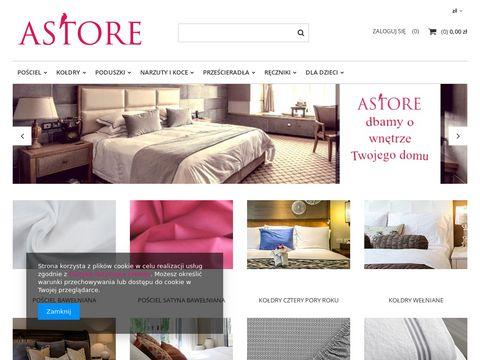 Astore.pl sklep internetowy kołdry, poduszki
