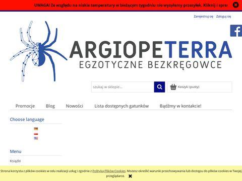 Argiopeterra.pl sklep terrarystyczny