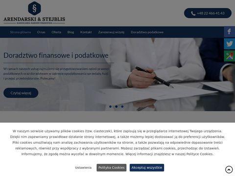 Arendarski-stejblis.pl adwokat