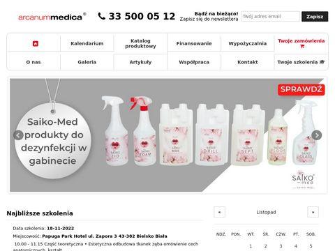Arcanummedica.pl szkolenia i sprzęt stomatologiczny