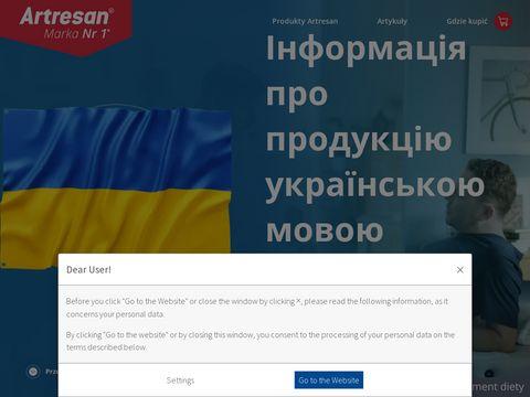 Artresan.pl zapomnij o bólach stawów