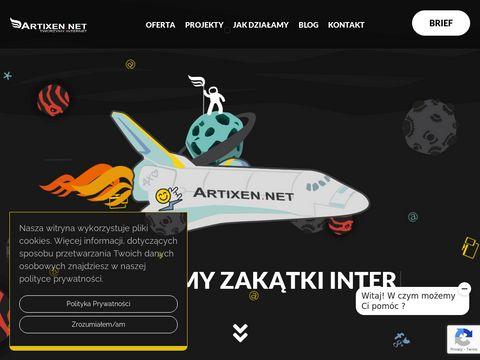 Artixen.net strony www Nowy Dwór Mazowiecki