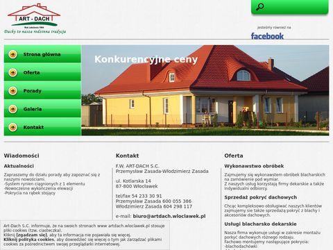 Artdach.wloclawek.pl pokrycia dachowe