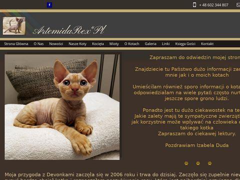Artemidarex.eu - hodowla kotów Devon Rex