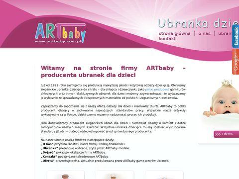 ARTbaby ekskluzywne ubranka dla dzieci