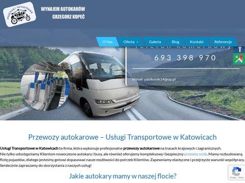 Autokary-katowice.com.pl Kopeć Grzegorz wynajem
