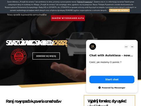 Autoklasa.pl sprowadzanie pojazdów na zamówienie
