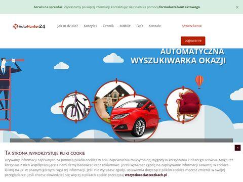 Autohunter24.pl najnowsze aukcje internetowe