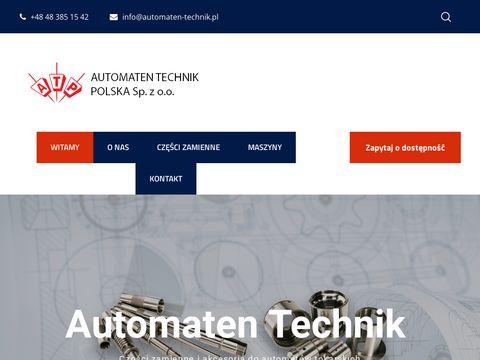 Automaten-technik.pl używane tokarki CNC