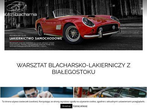Autoblacharnia.com.pl lakierowanie samochodów