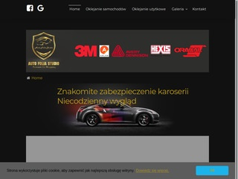 Autofoliastudio.com - zmiana koloru auta Kraków
