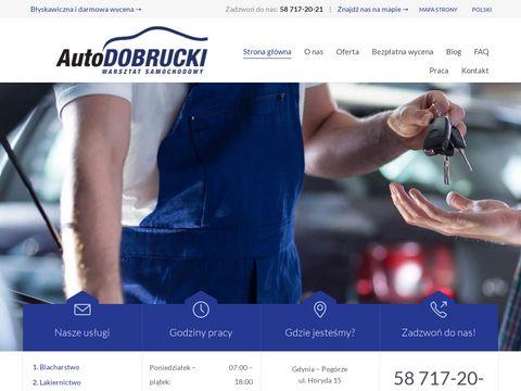 Autodobrucki.pl blacharstwo Gdynia