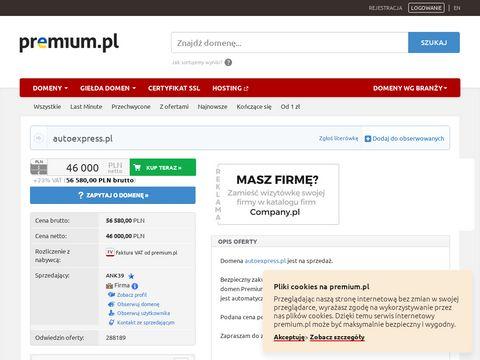 AutoExpress.pl darmowe ogłoszenia motoryzacyjne