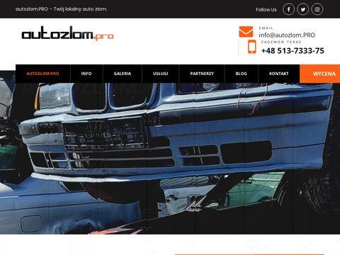 Autozlom.pro - skup złomowanie Bielsko-Biała