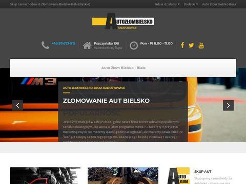Autozlombielsko.pl skup złomowanie
