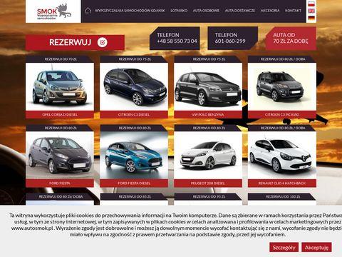 PHU SMOK wypożyczalnia aut Gdańsk