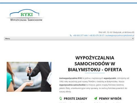 Autowypozyczalniabialystok.pl