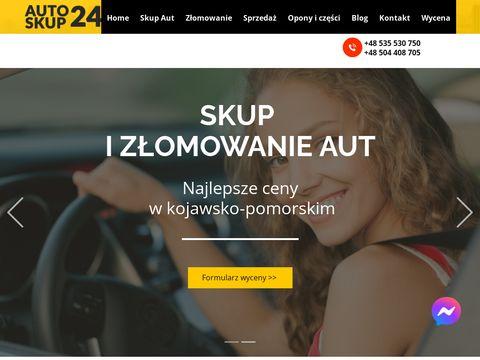 Auto-skup24.com kascja pojazdow