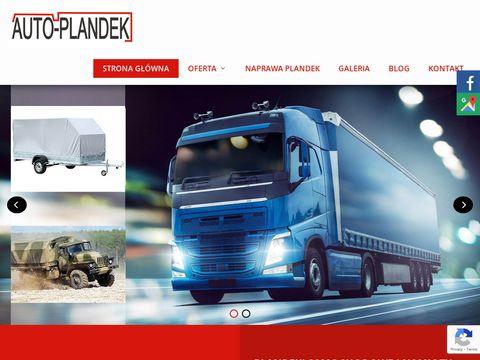 Auto-plandek.pl namioty handlowe