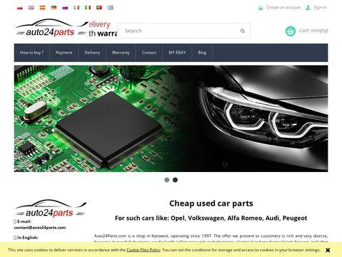Auto24parts.com komputery sterownika silnika