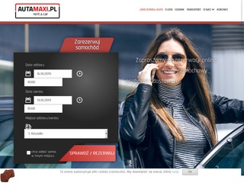 AutaMaxi.pl wypożyczalnia wynajem samochodów