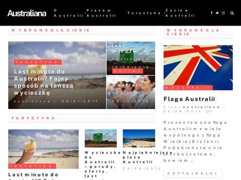 Australiana.pl - Podróże, życie i praca
