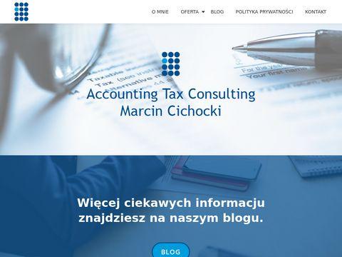 Atc.olsztyn.pl doradztwo podatkowe Marcin Cichocki