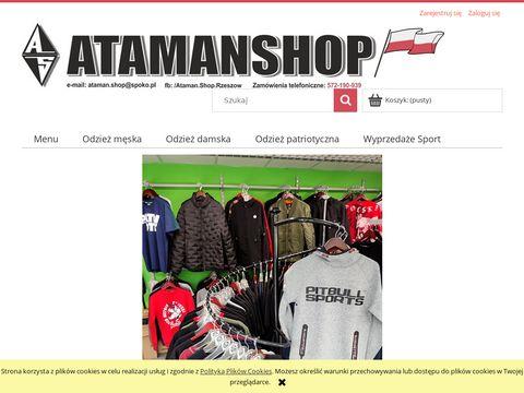Atamanshop.pl - ciemna strefa