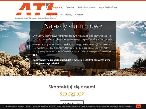 Atl-maszyny.pl - gąsienice Gumowe