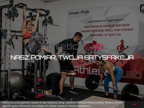 Athleticslab.pl badania wydolności analiza składu ciała