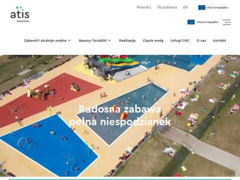 Atis Jasienica - wodne place zabaw