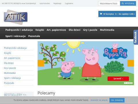 Atik.pl - podręczniki i książki
