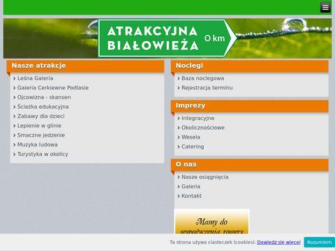Atrakcyjna-bialowieza.pl noclegi agroturystyka