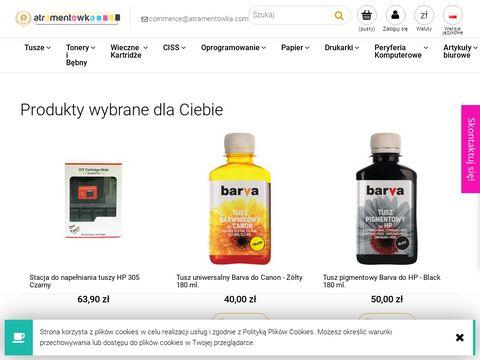 Atramentowka.com kartridże, tusze do drukarek