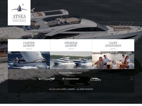 AtSea.pl - czarter jachtów Bałtyk