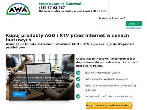 Awanet.pl - Hurtownia internetowa AGD RTV