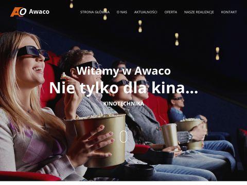 Awaco projektory do kin