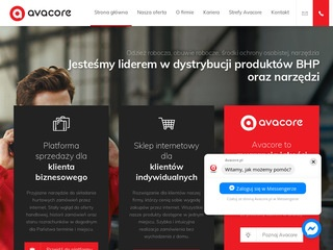 Avacore.pl sklep BHP