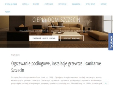 Cieplydom.szczecin.pl ogrzewanie podłogowe